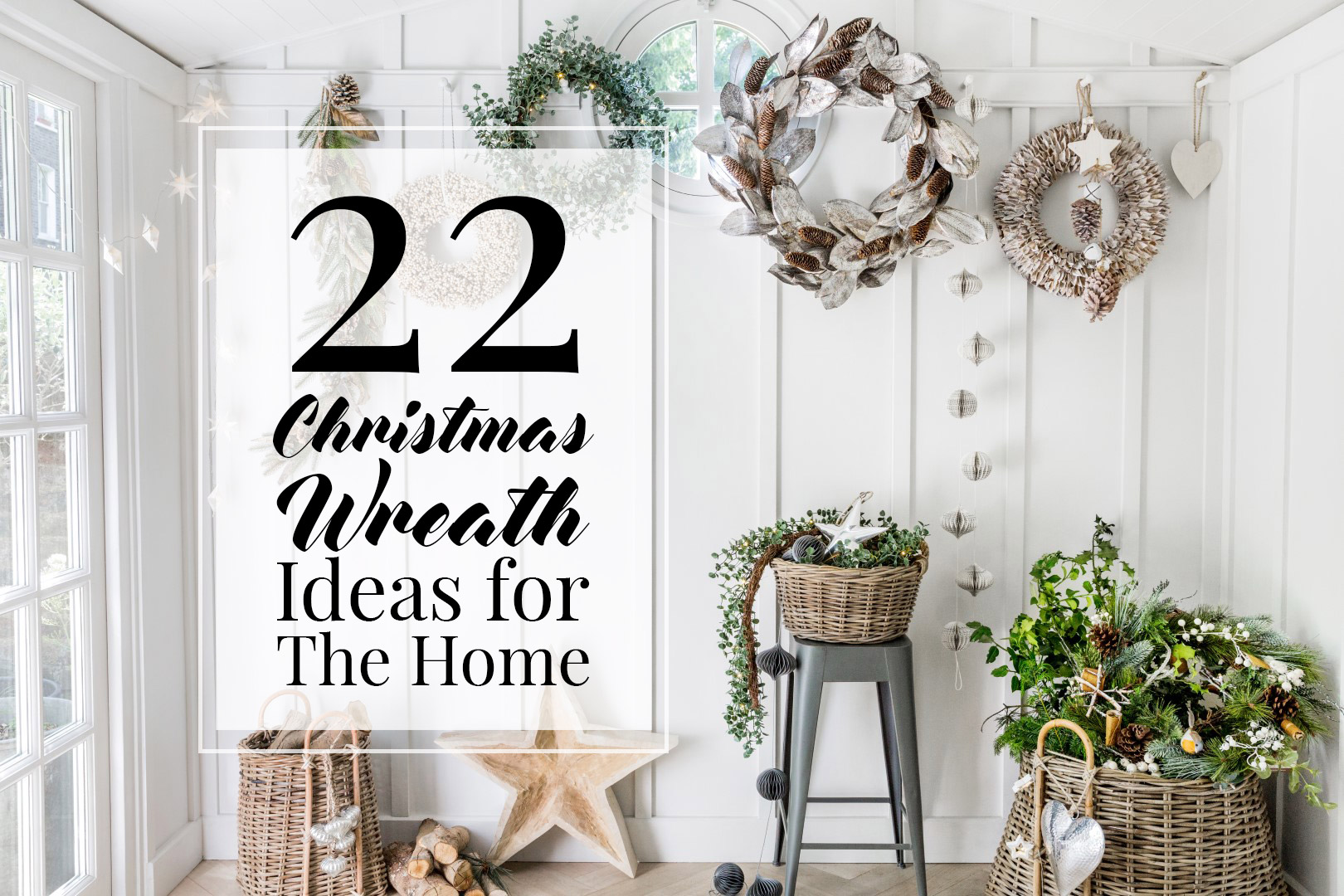 Christmas Wreath Ideas.22 Christmas Wreath Ideas For Your Home The Luxpad The