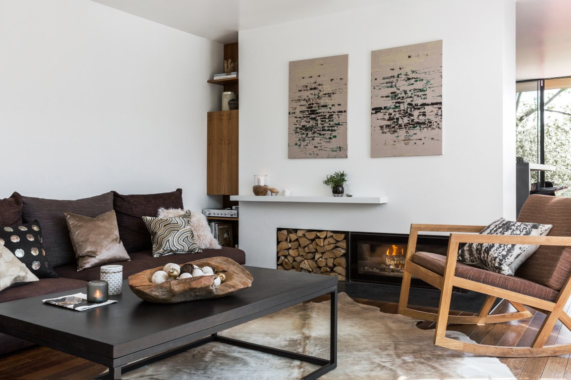 Natural interior design inspiration with a by amara s - What is the meaning of living room ...