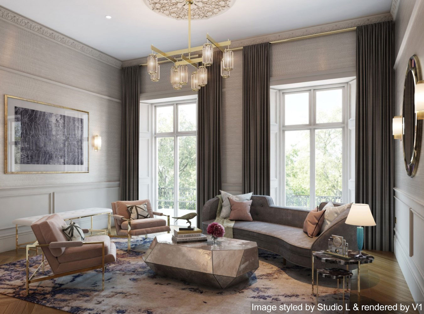 2019 interior trends the ones to watch - 2019 living room trends ...