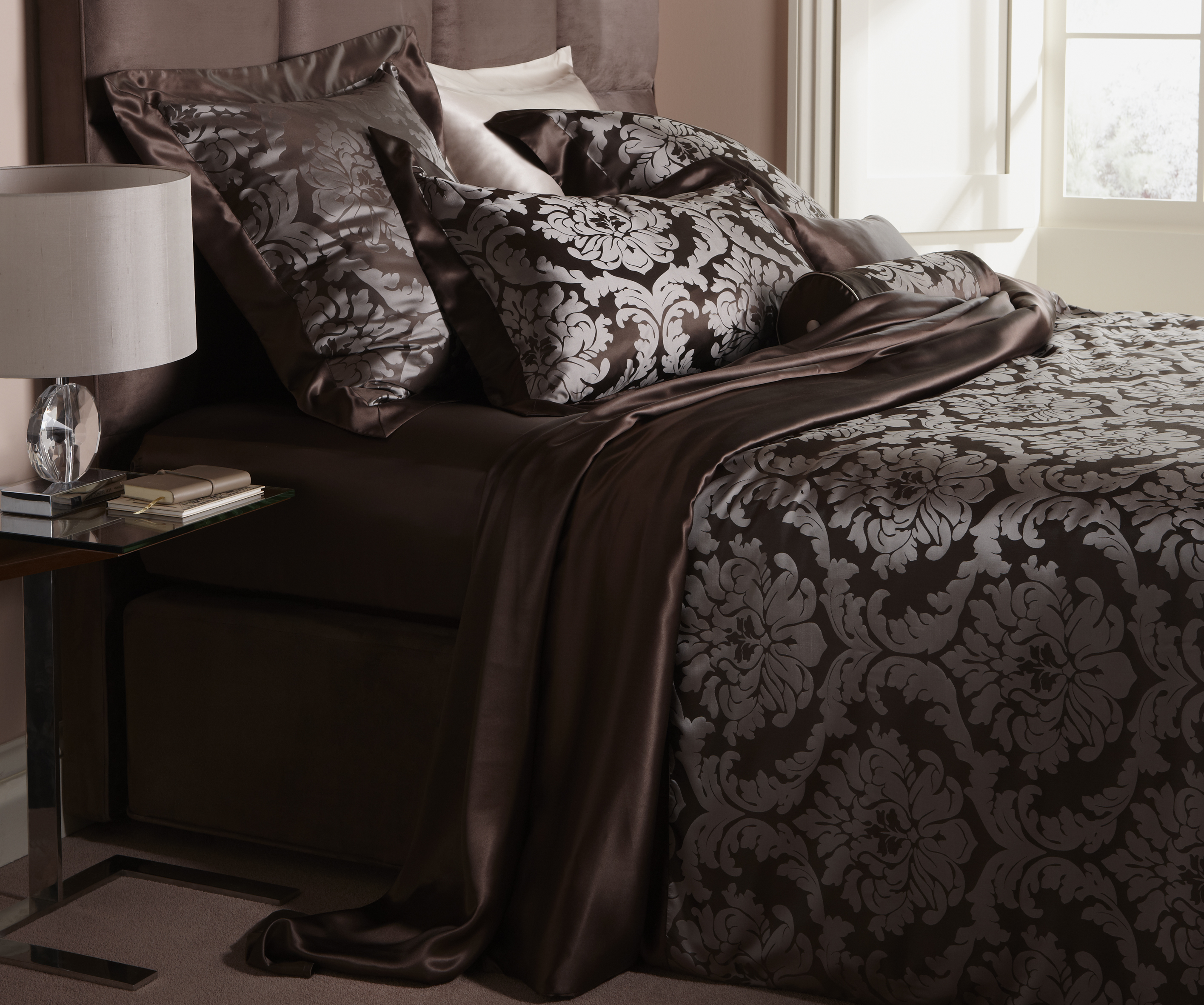 transform your bedroom with luxurious silk