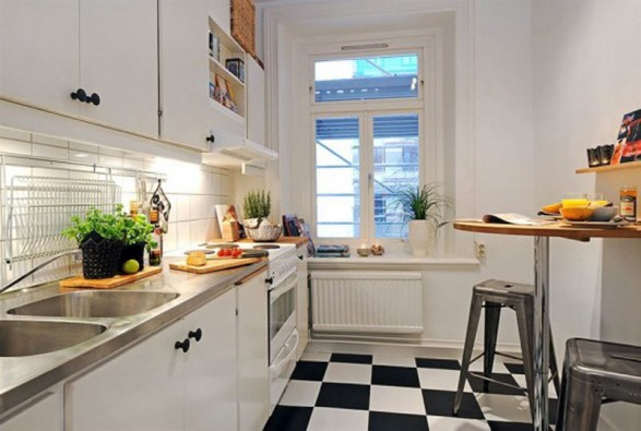 small kitchen ideas for studio apartments 587x395 1