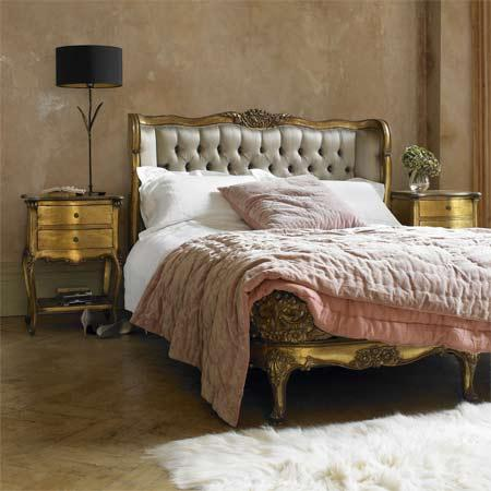 Image courtesy of A Touch of Luxe: a Baroque headboard