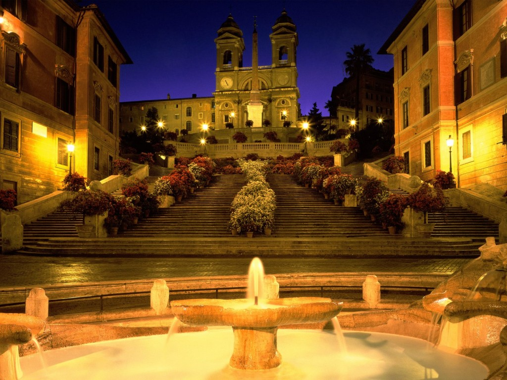 Image courtesy of Amazing Material: The Spanish Steps
