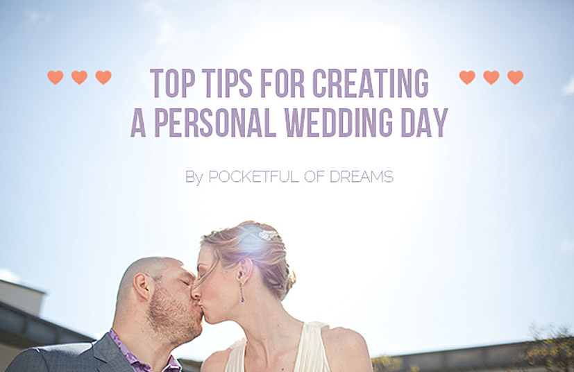Creating a Personal Wedding