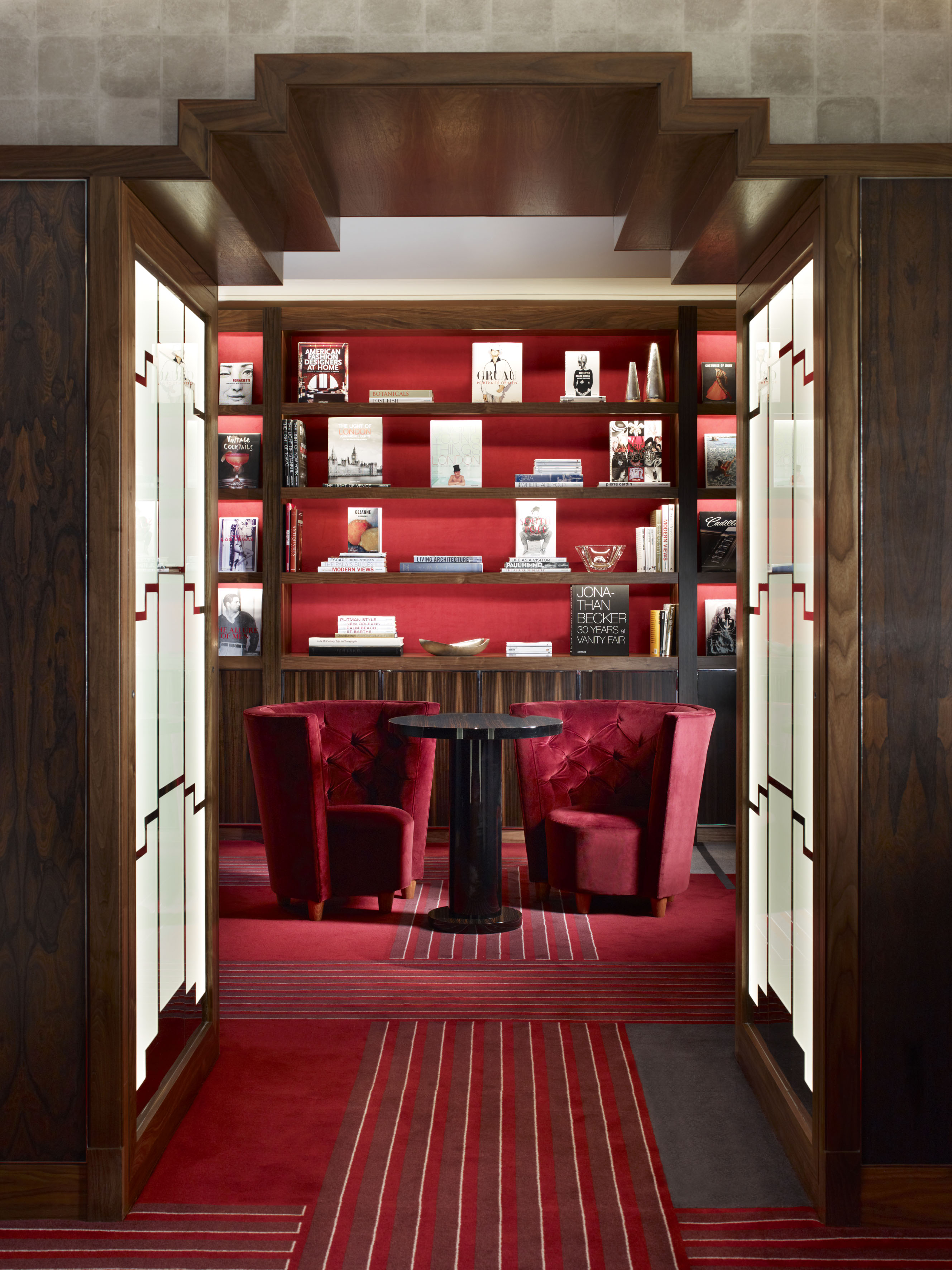 The Linley Map Room At Claridge S The Luxpad