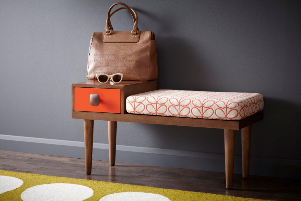 Orla kiely furniture the luxpad for Table pour tele