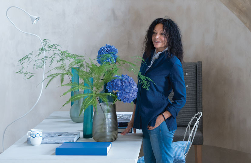 Interview With :    Tricia Guild, Creative Director and Founder of Designers Guild