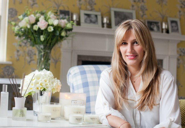 Scenting your home at Christmas with Neom Organics