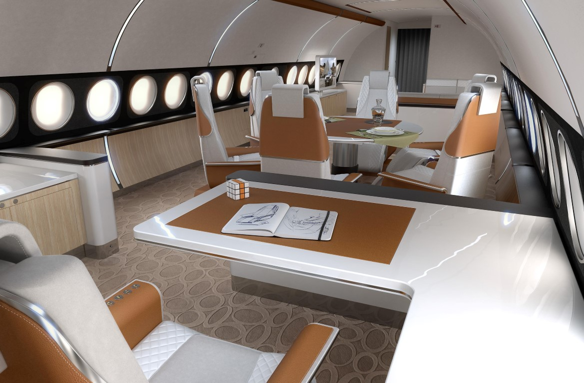Airbus A319 Elegance U2013 Office. Image Courtesy Of Airbus. U0027Airbus Corporate  Jets ...