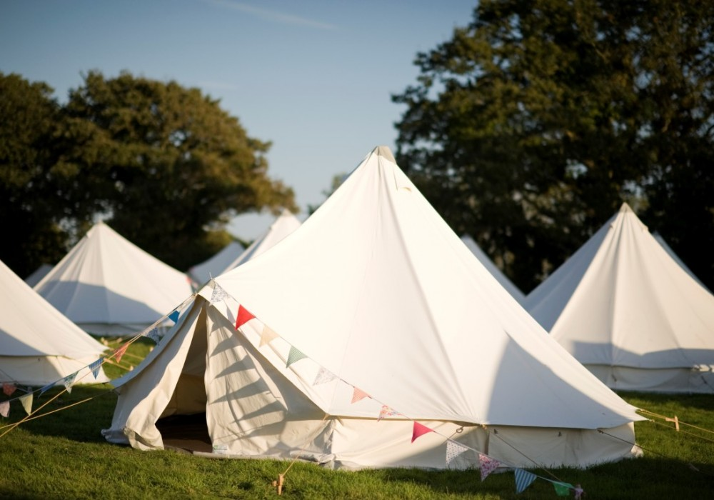 The Pop-Up Hotel Bell Tents & Camp in Luxury Style - The LuxPad