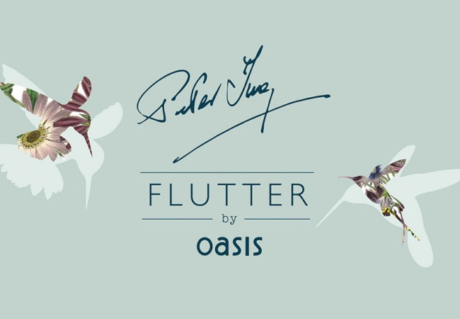Peter Ting's Flutter Ceramic design now a fashion line thanks to Oasis