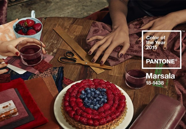 Pantone Colour of the Year 2015 – Marsala