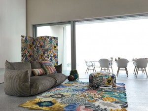 Lilium Multicolour from the Missoni Home 2015 Collection, Image courtesy of Missoni Home
