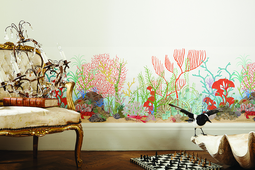 Cole Amp Son S New Whimsical Wallpaper Collection The Luxpad