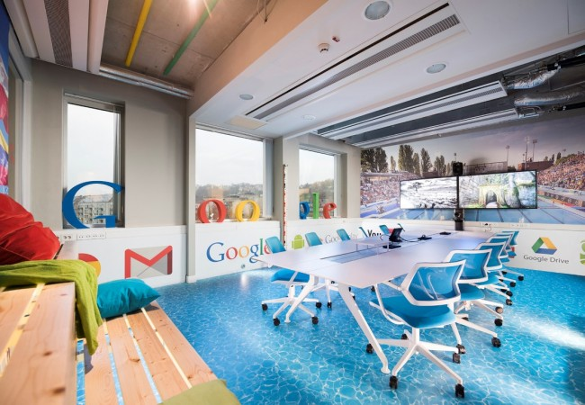 Google's New Offices in Budapest