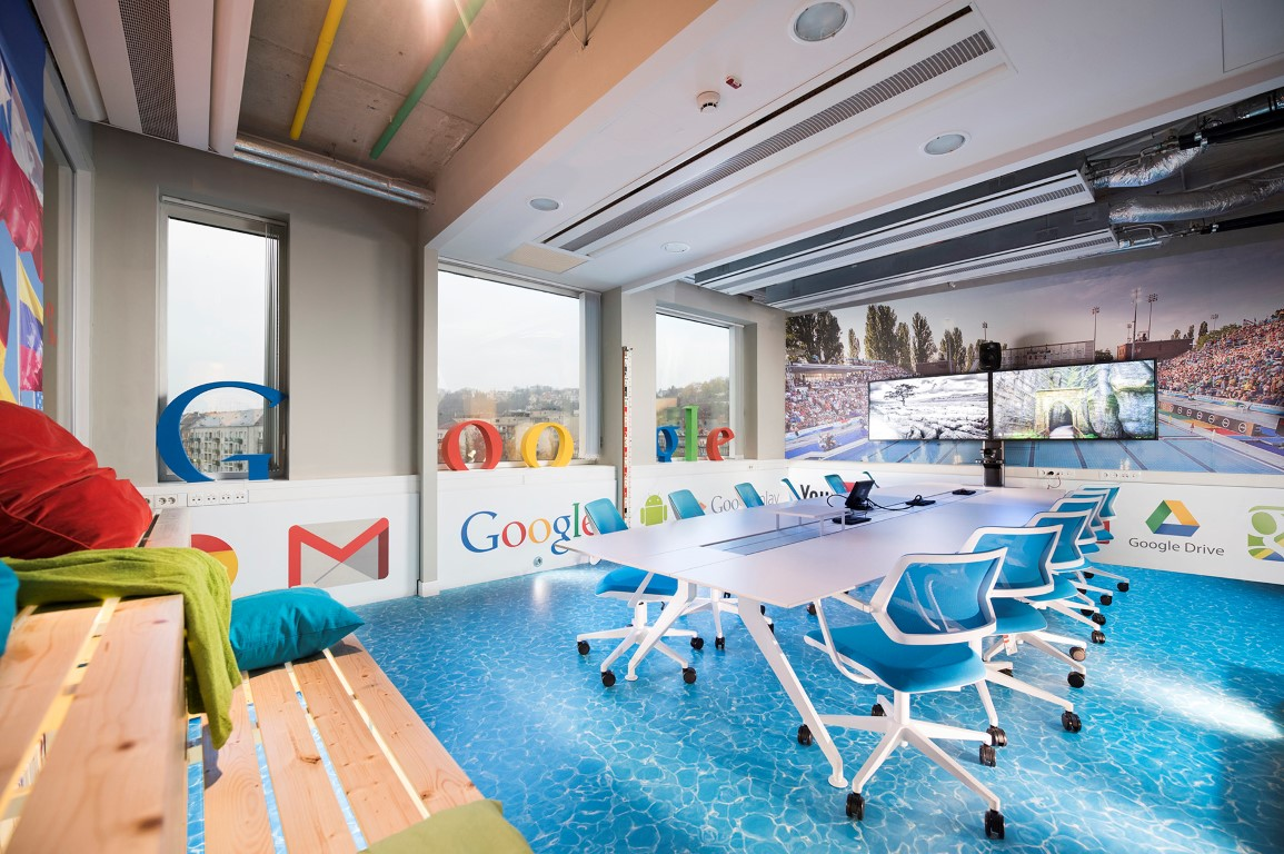 Googles new offices in budapest