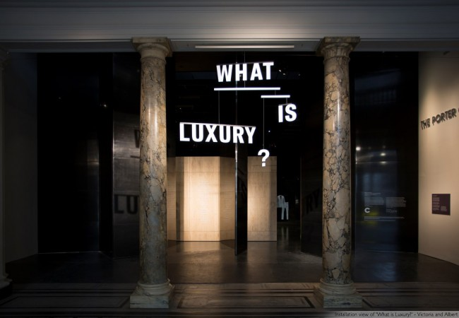 What Is Luxury? A New Exhibition at the V&A
