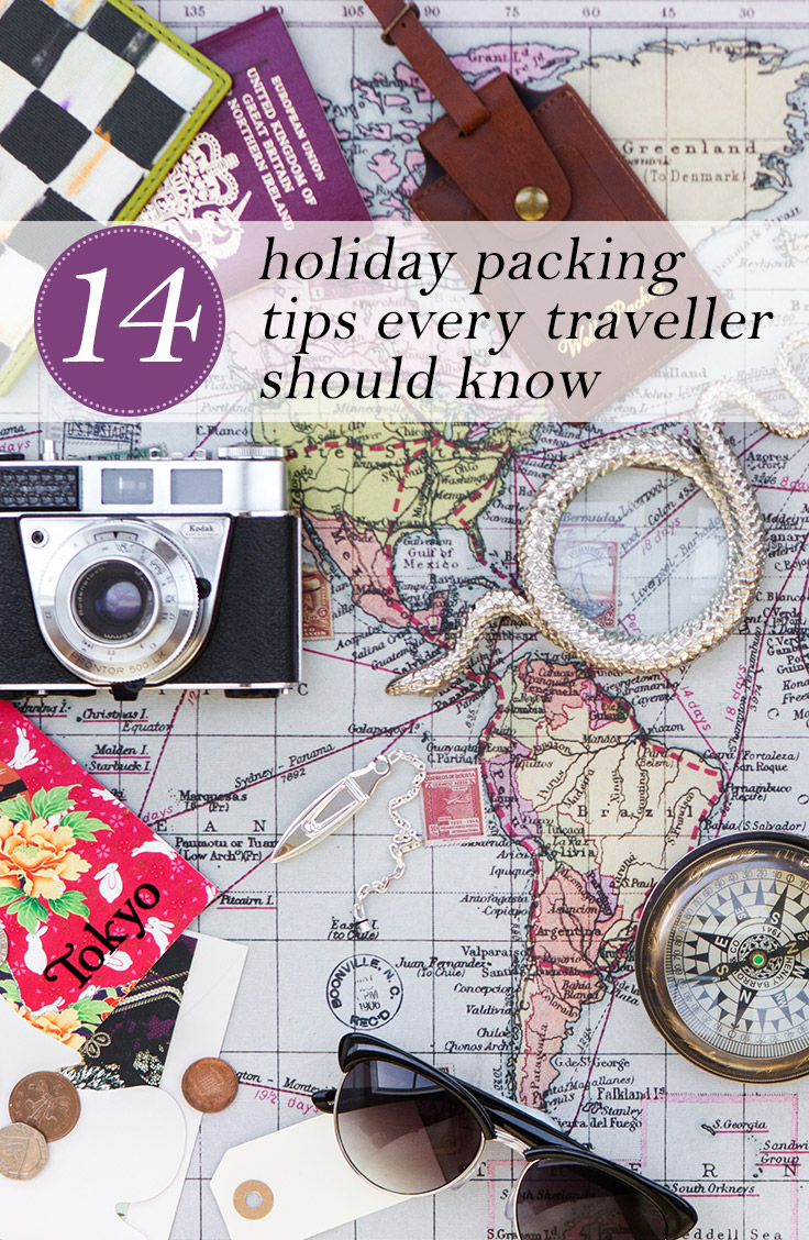 holiday packing tips