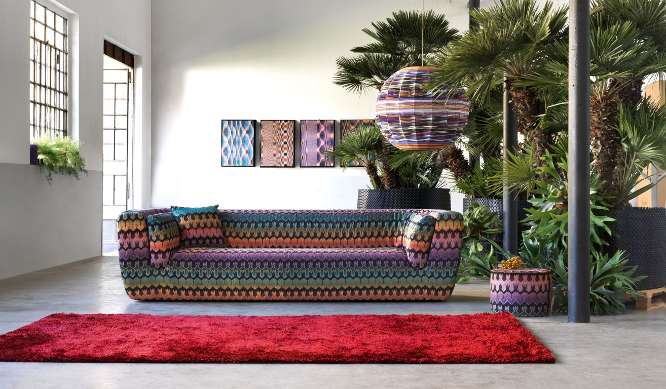 the colourful history of missoni home the luxpad. Black Bedroom Furniture Sets. Home Design Ideas