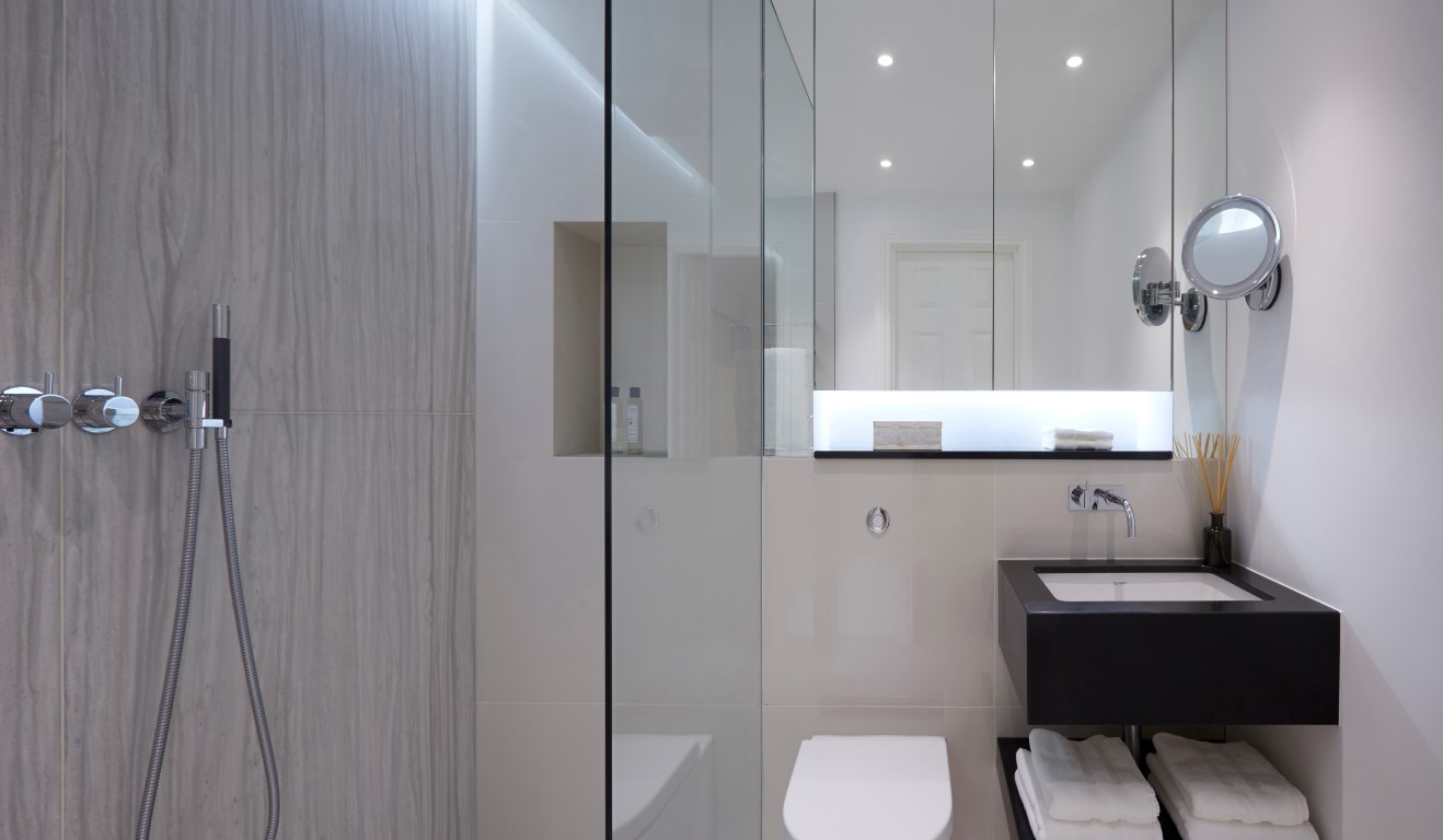 Devonshire Place Bathroom - Photographed by Ray Main