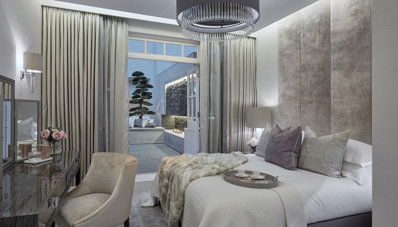 Devonshire Place Bedroom - Photographed by Ray Main