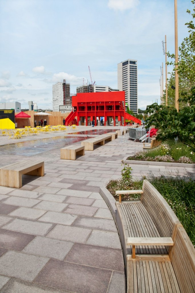 Red Pavilion by TAKA, Clancy Moore and Steve Larkin_Part of New Horizon_architecture from Ireland at London Festival of Architecture 2015_6_Image courtesy of Jon Bosworth (Medium)