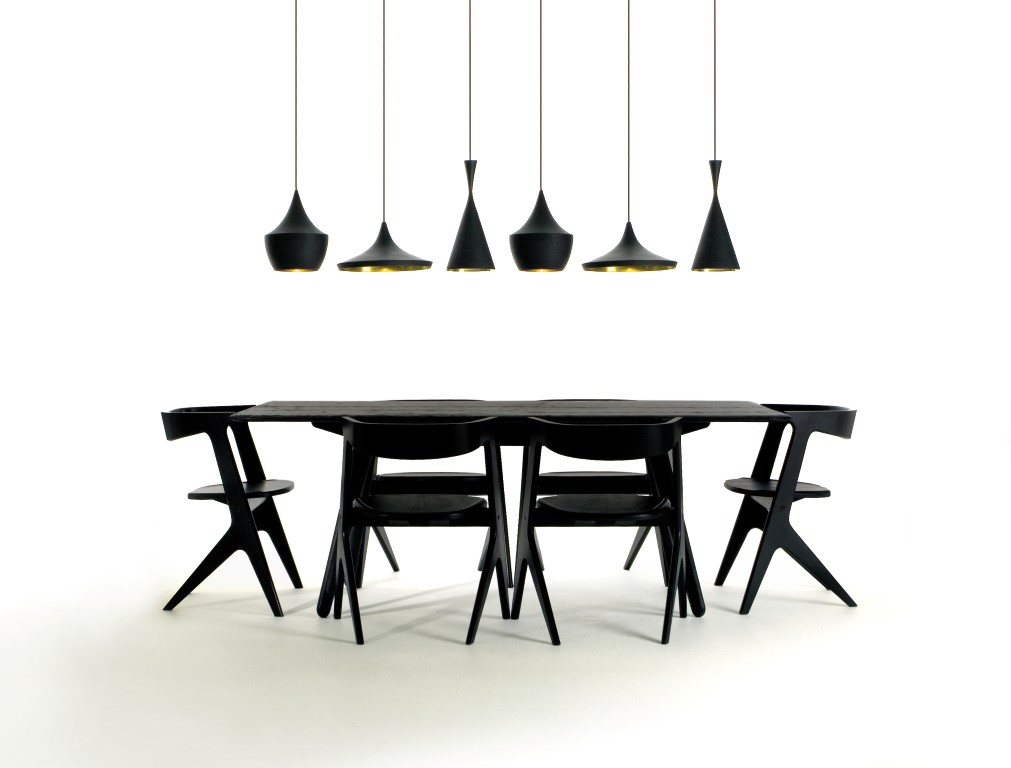 Industrial style lighting from Tom Dixon - Image courtesy of Tom Dixon