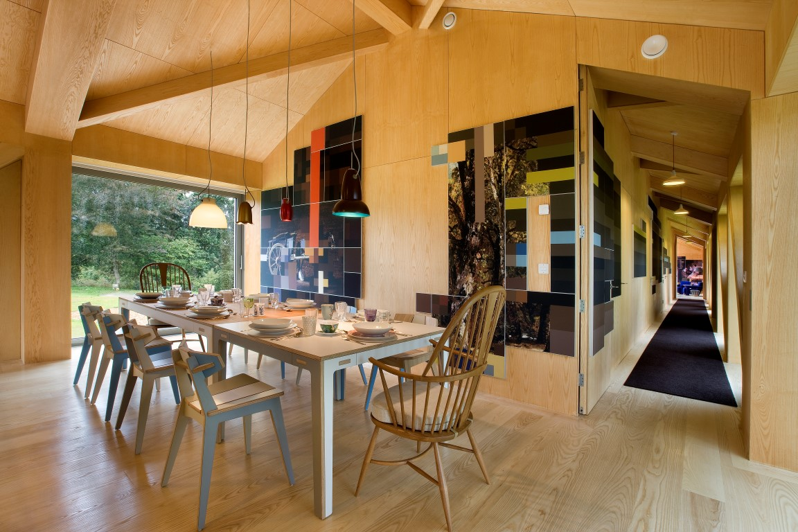 The Balancing Barn By Living Architecture