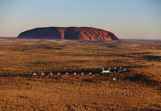 The Height of Luxury Glamping in Uluru National Park
