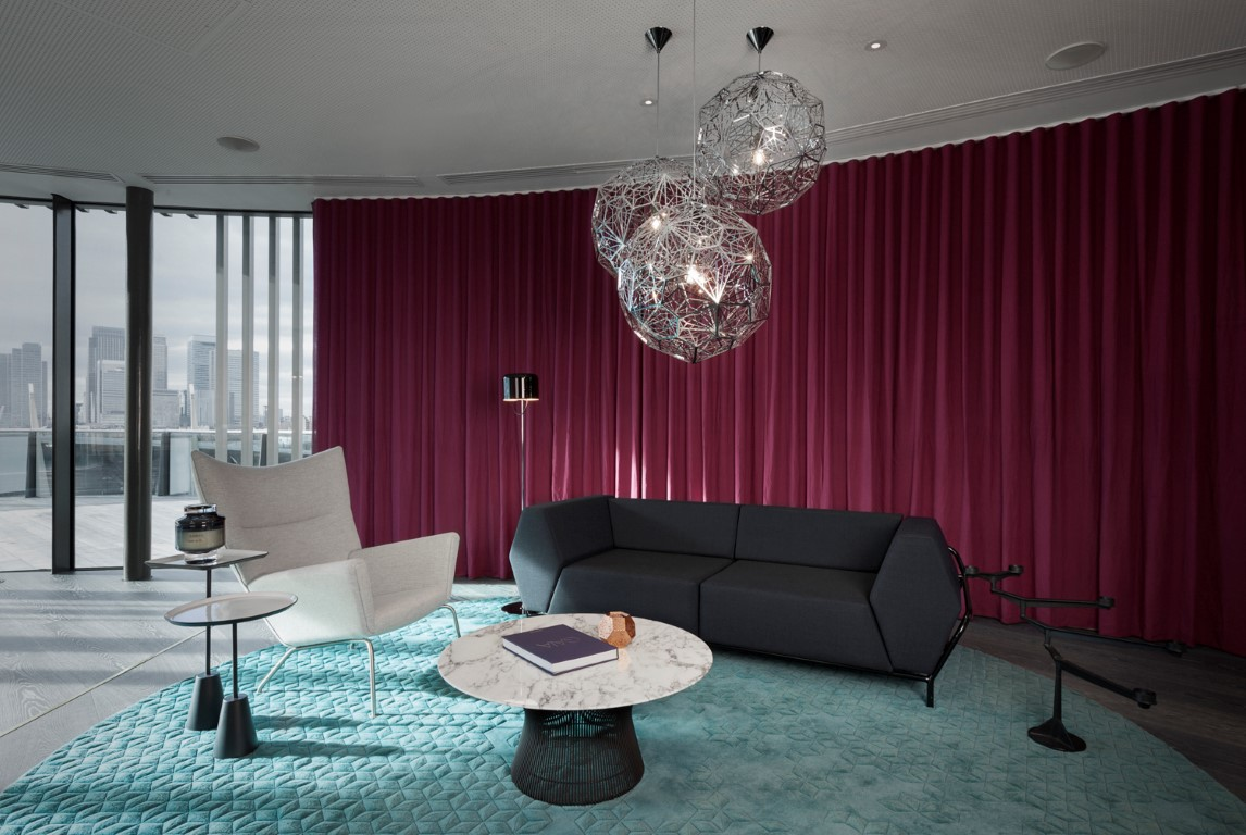 Tom Dixon's first ever hotel project Mondrian London at Sea Containers