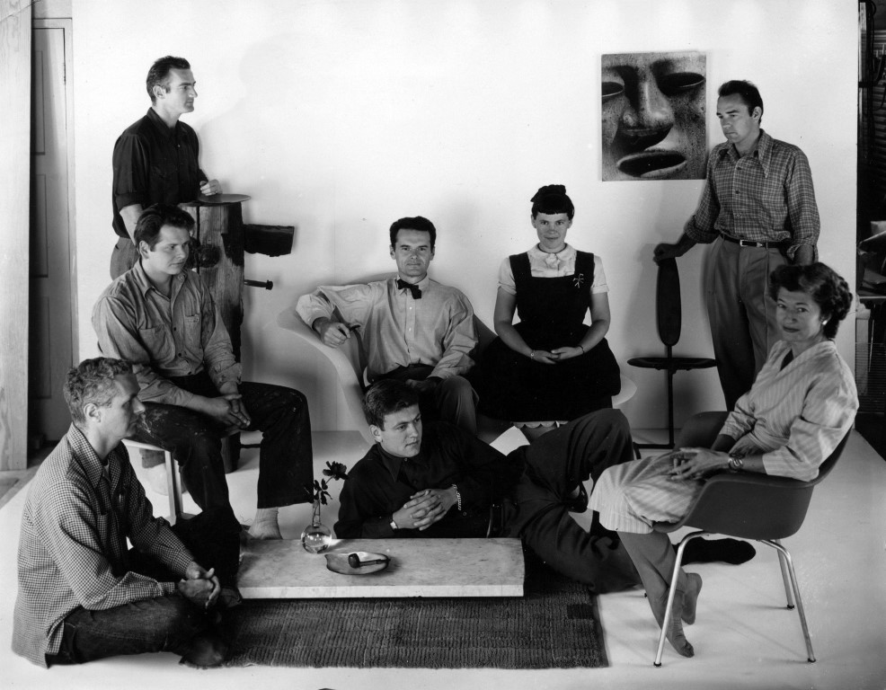 the world of charles and ray eames exhibition the luxpad. Black Bedroom Furniture Sets. Home Design Ideas