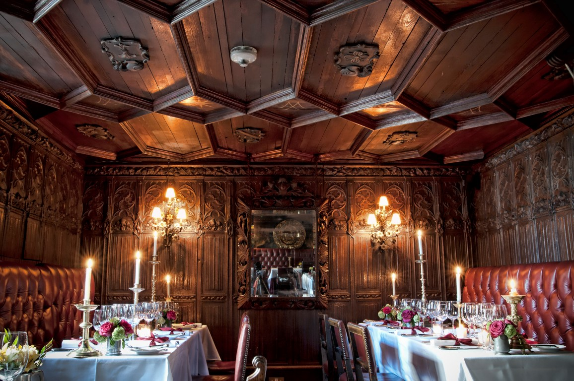 The original dining room - image courtesy of The Witchery