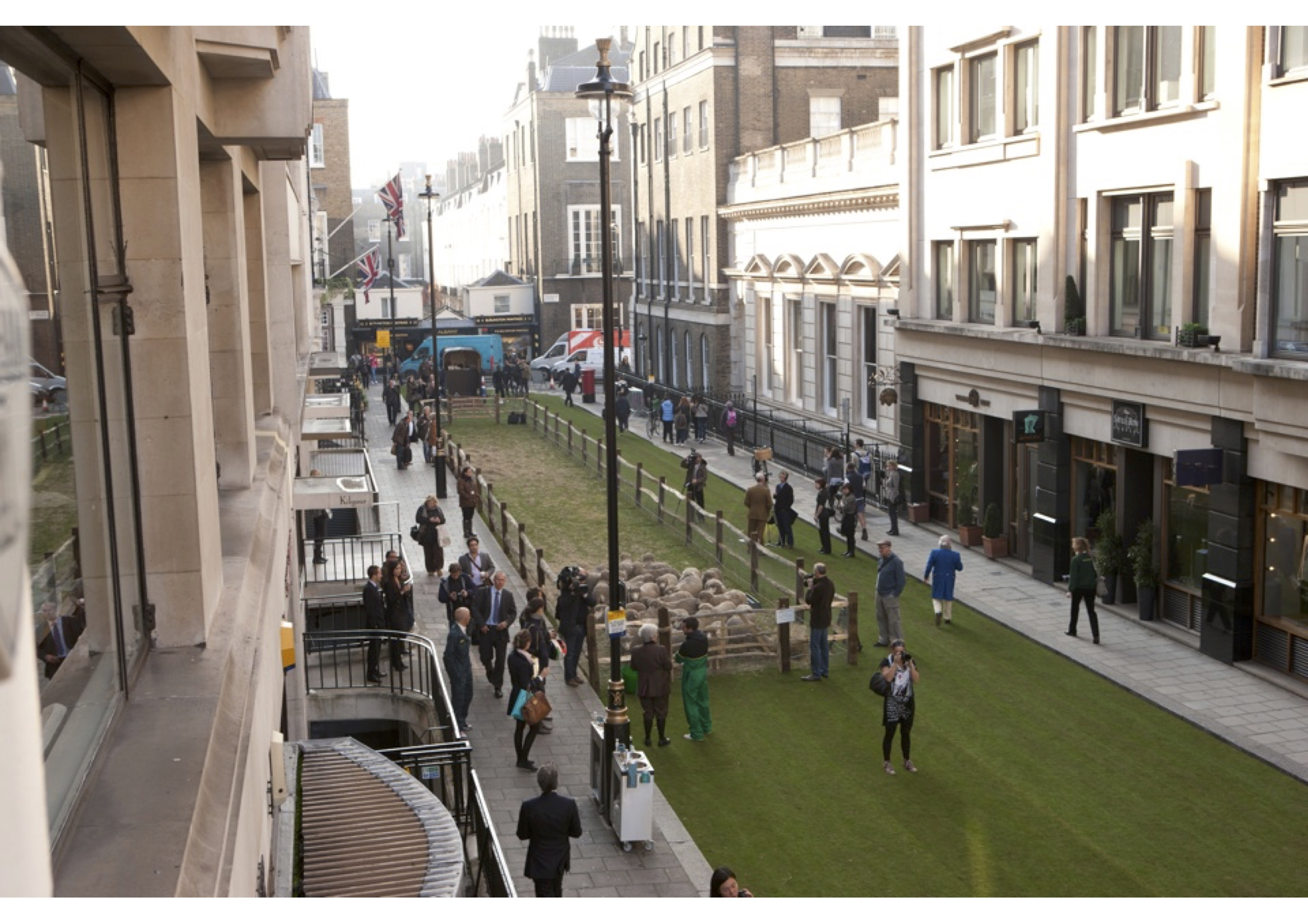 Savile Row gets a Woolly Makeover - Image courtesy of Campaign for Wool