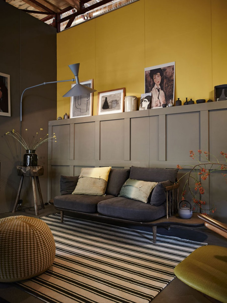 Call It Saffron The Truth Is That Cherished Gold Has Been Featured In Many Homes For Some Time Now As Goes Well With Two More Colours