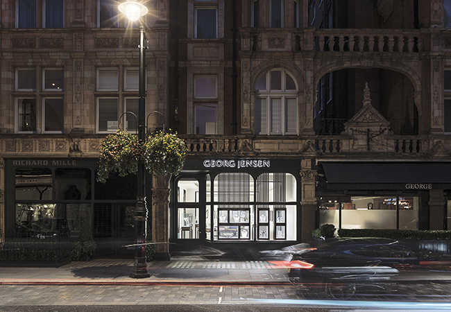 Georg Jensen Launches New Flagship in London