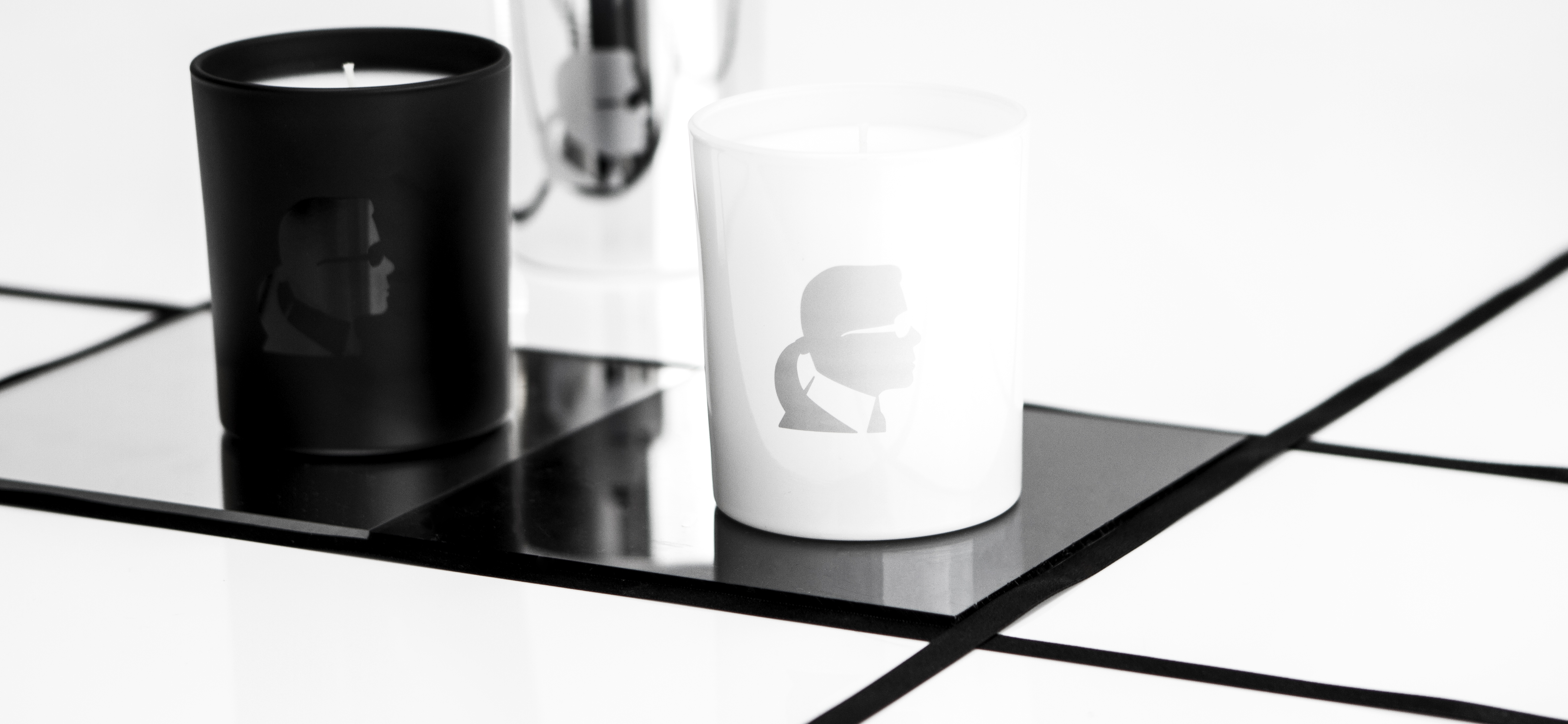 Karl Lagerfeld Scented Candles - Image courtesy of Amara