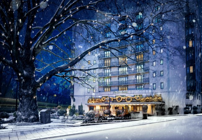 Delights At The Dorchester This Christmas