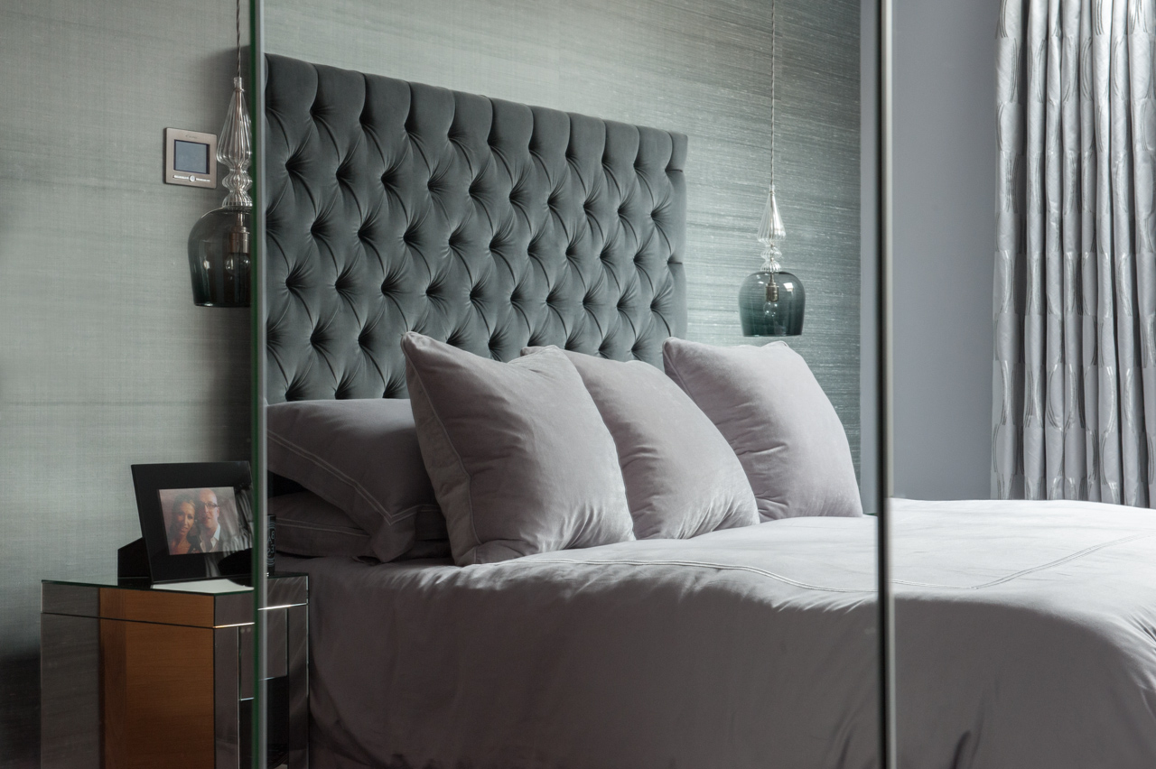 Master Bedroom – Image courtesy of Cave Interiors & Photography by Lucy Levene