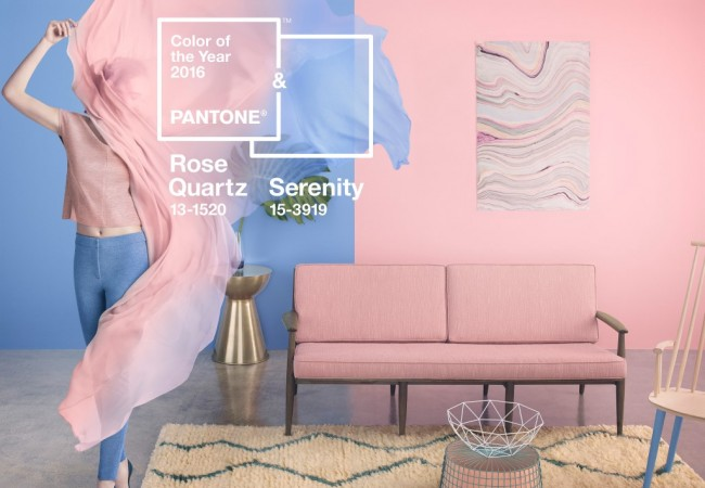 Pantone Colour of the Year 2016: Serenity and Rose Quartz