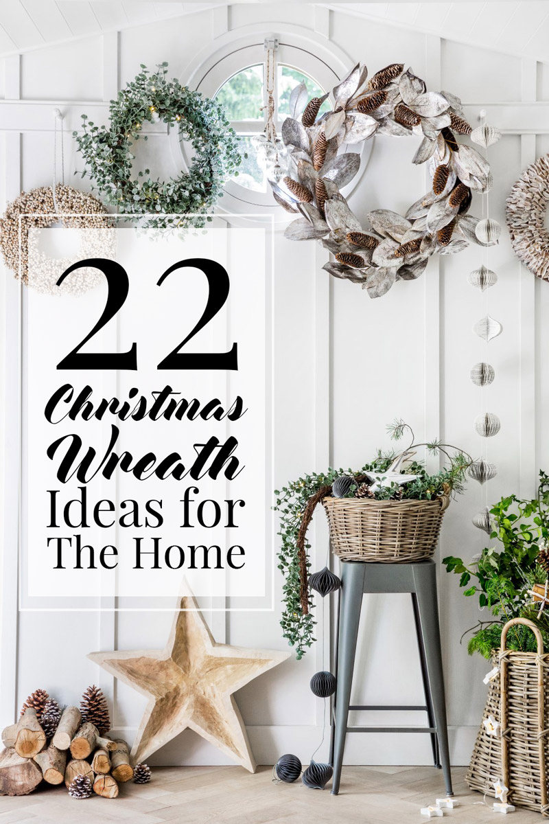 22 christmas wreath ideas for your home the luxpad - Fascinating home ideas decorating inspirations you have to see ...