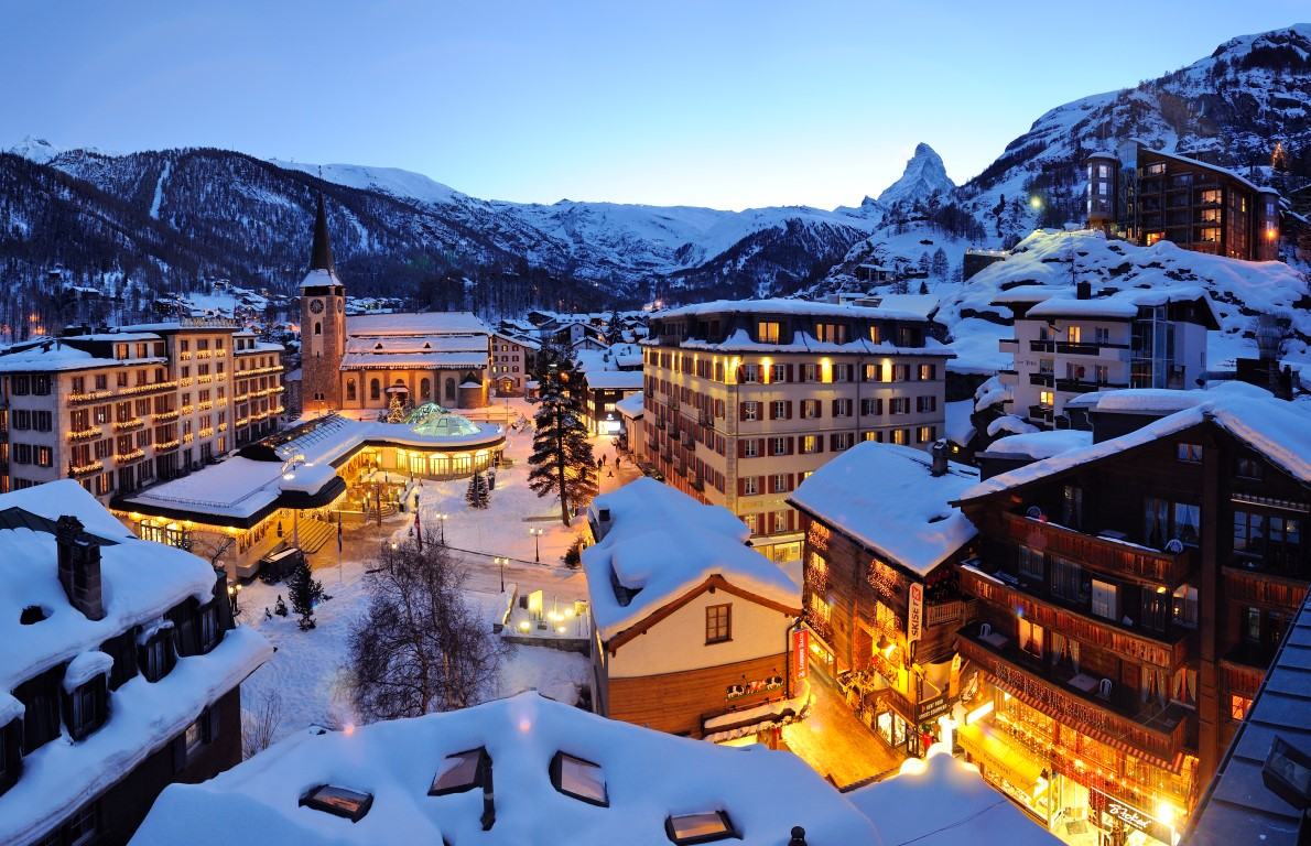 the world's most luxurious ski resorts to visit in 2018