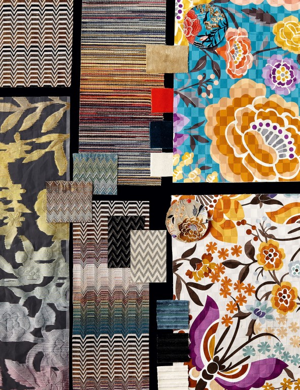 Oriental Garden Moodboard - Missoni Home Collection 2016