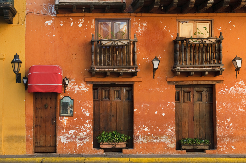 Streets of Cartagena, Colombia - image courtesy of Exsus