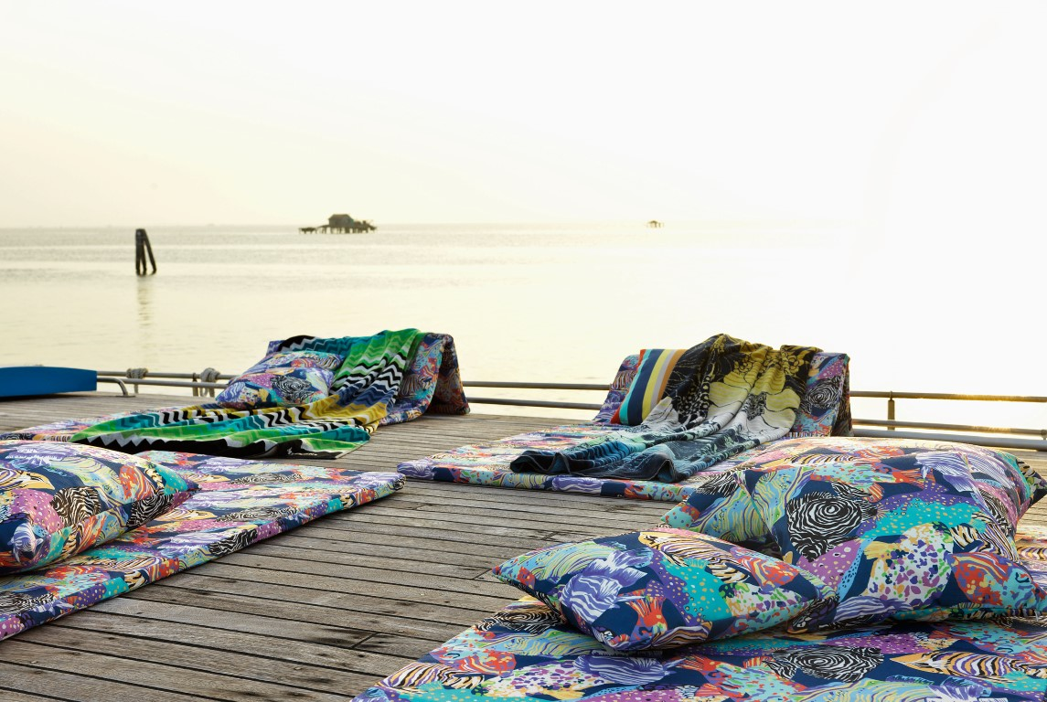 Tropical Fish - Missoni Home 2016