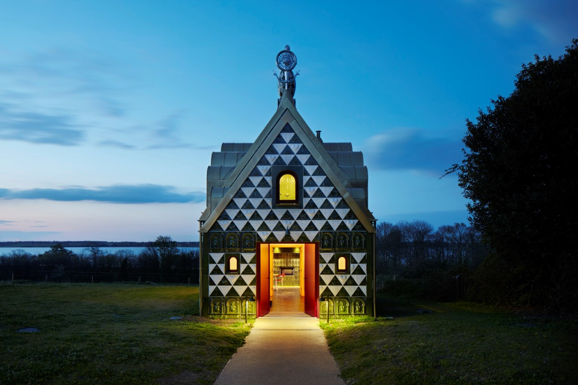 A House For Essex by FAT Architecture & Grayson Perry - Photograph by Jack Hobhouse