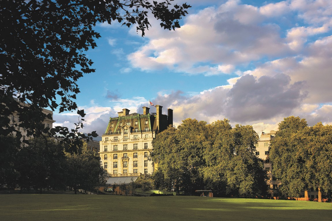 Green Park View -Image courtesy of The Ritz London