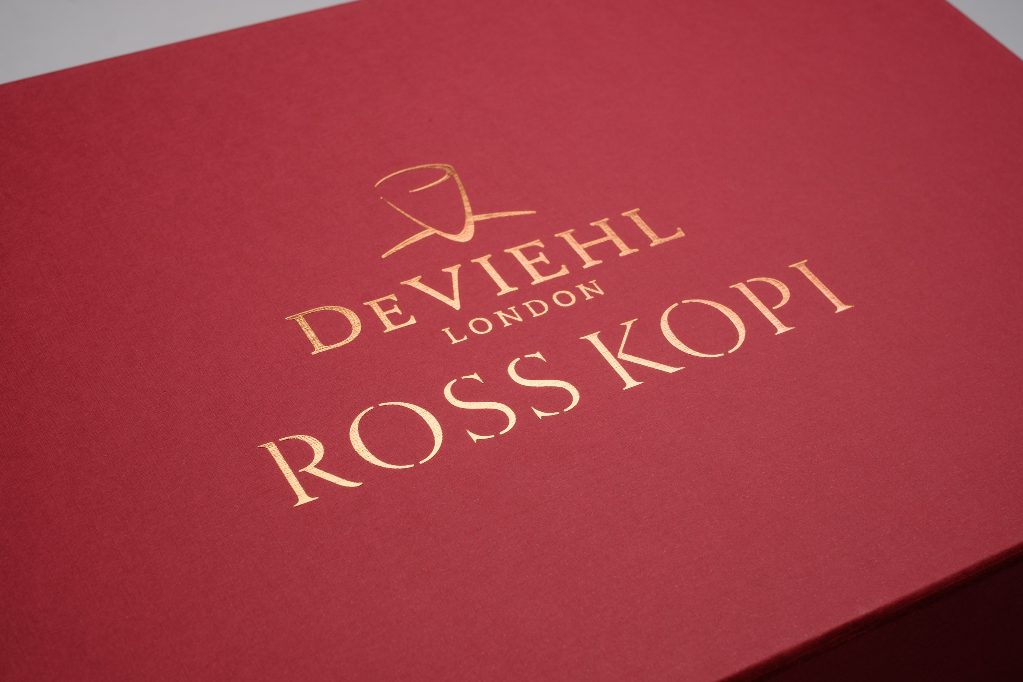Deviehl & Ross Kopi packaging
