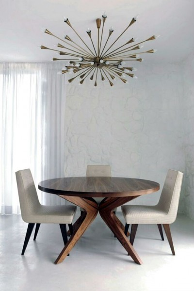 Mid-century modern dining | Discover more interior design styles on The LuxPad