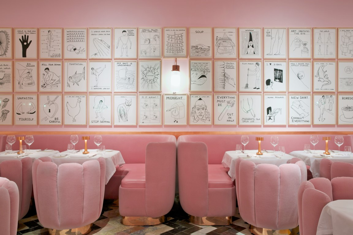 art meets dining at london's sketch restaurant - the luxpad