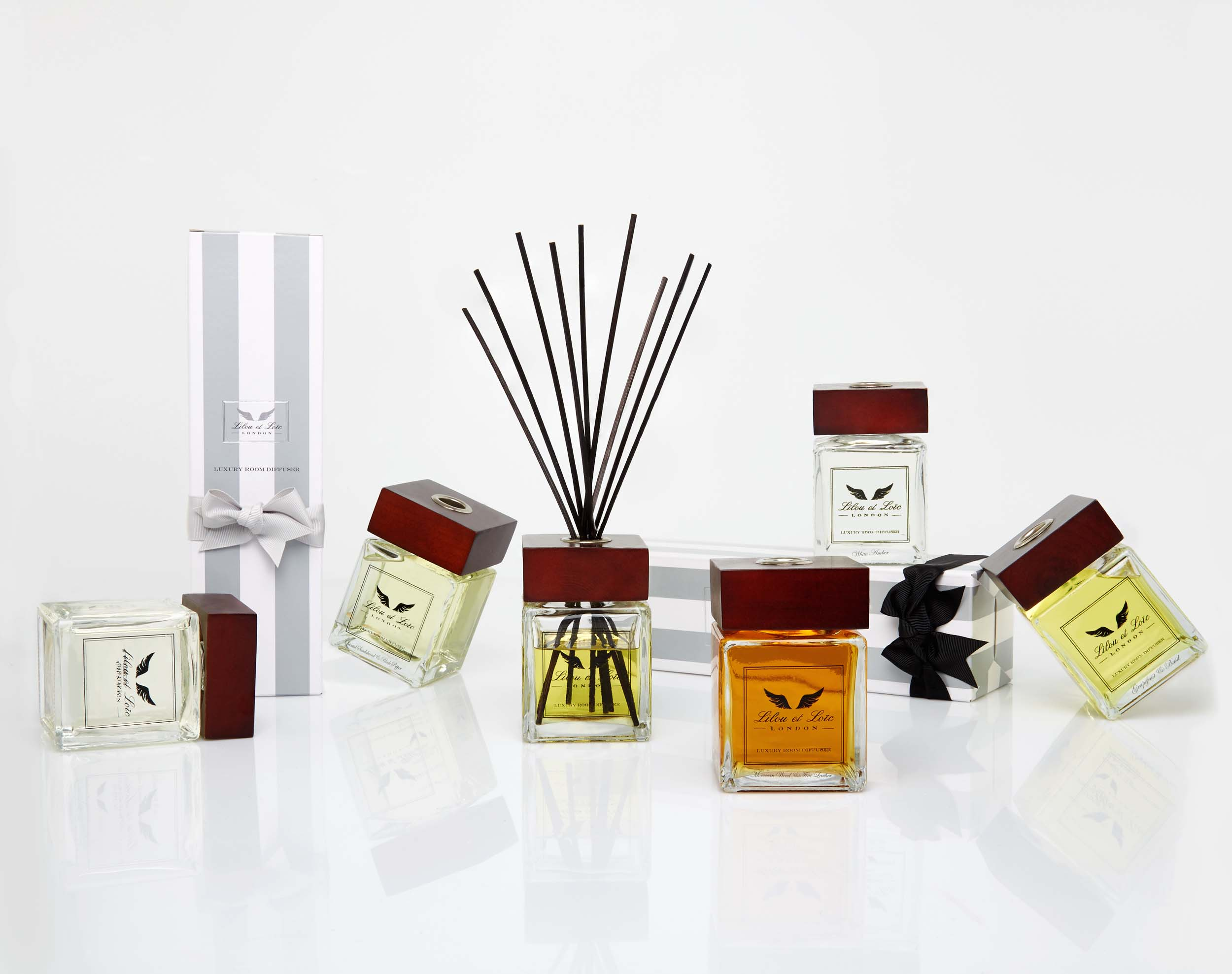 Room diffusers - images courtesy of Amara